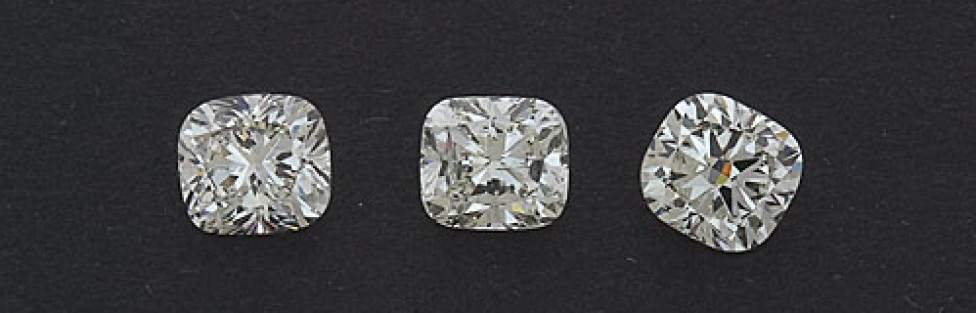 What is the Difference between Cushion Brilliant and Cushion Modified Brilliant Cut Diamonds?