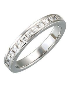 14K Gold Eternity Wedding Band