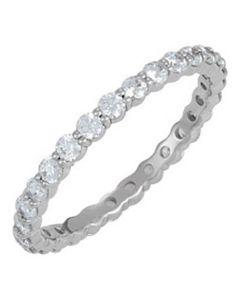 Platinum Eternity Wedding Band
