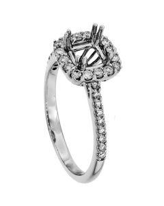 18K White Gold Diamond Ring 18922