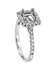 18K White Gold Diamond Ring 18932