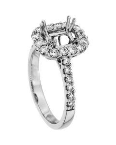 18K White Gold Diamond Ring 18941