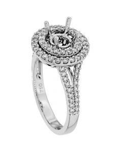 18K White Gold Diamond Ring 19057